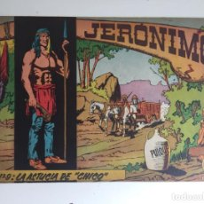 Tebeos: JERONIMO - NUMERO 9 - GALAOR, ORIGINAL - GCH. Lote 184425603