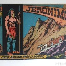 Tebeos: JERONIMO - NUMERO 10 - GALAOR, ORIGINAL - GCH. Lote 184425635