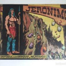 Tebeos: JERONIMO - NUMERO 12 - GALAOR, ORIGINAL - GCH. Lote 184425761
