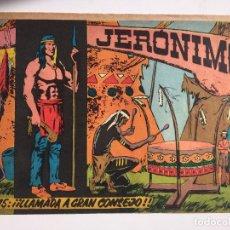 Tebeos: JERONIMO - NUMERO 15 - GALAOR, ORIGINAL - GCH. Lote 184426170