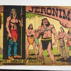 Tebeos: JERONIMO - NUMERO 16 - GALAOR, ORIGINAL - GCH. Lote 184426252