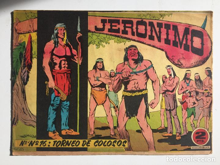 JERONIMO - NUMERO 16 - GALAOR, ORIGINAL - GCH (Tebeos y Comics - Galaor)