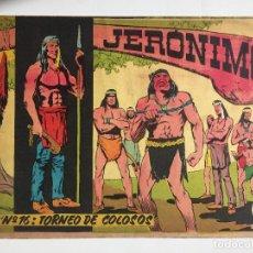 Tebeos: JERONIMO - NUMERO 16 - GALAOR, ORIGINAL - GCH. Lote 184426317