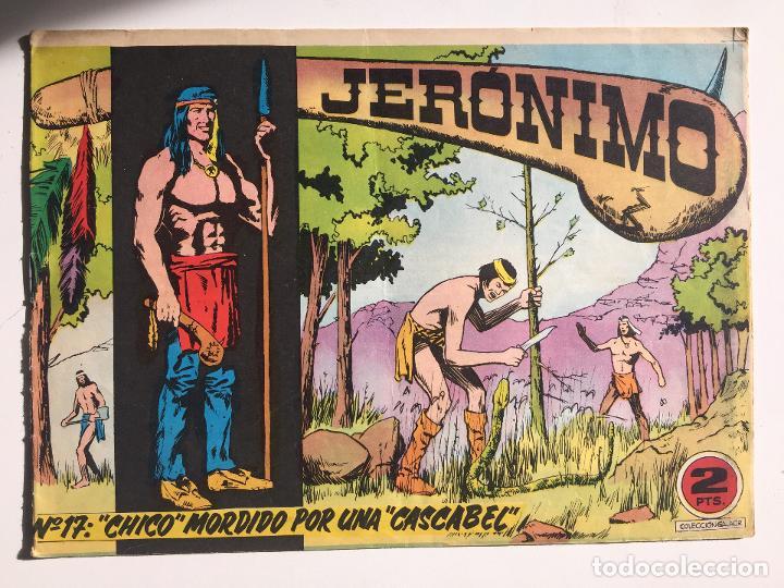 JERONIMO - NUMERO 17 - GALAOR, ORIGINAL - GCH (Tebeos y Comics - Galaor)