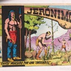Tebeos: JERONIMO - NUMERO 17 - GALAOR, ORIGINAL - GCH. Lote 184426355