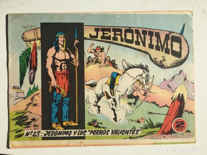 JERONIMO - NUMERO 23 - GALAOR, ORIGINAL - GCH (Tebeos y Comics - Galaor)