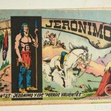 Tebeos: JERONIMO - NUMERO 23 - GALAOR, ORIGINAL - GCH. Lote 184426426