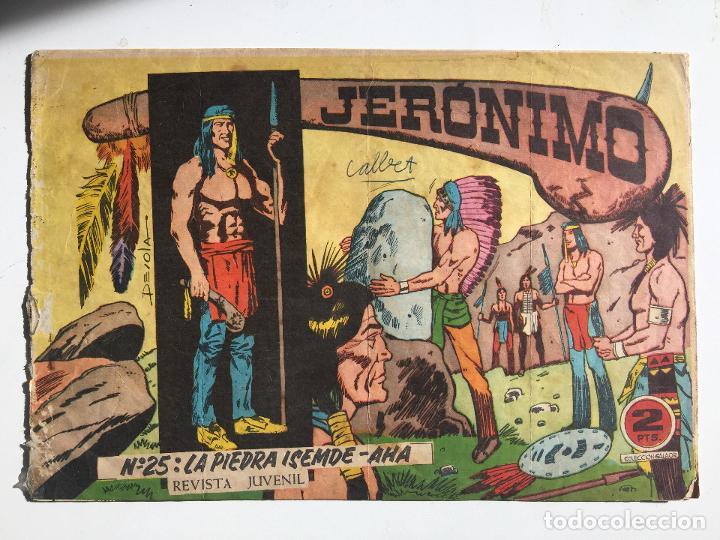 JERONIMO - NUMERO 25 - GALAOR, ORIGINAL - GCH (Tebeos y Comics - Galaor)