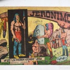 Tebeos: JERONIMO - NUMERO 25 - GALAOR, ORIGINAL - GCH. Lote 184426486