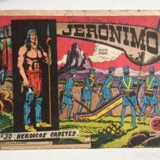 Tebeos: JERONIMO - NUMERO 30 - GALAOR, ORIGINAL - GCH. Lote 184426613
