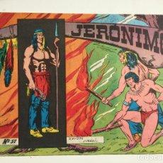 Tebeos: JERONIMO - NUMERO 57 - GALAOR, ORIGINAL - GCH. Lote 184426707