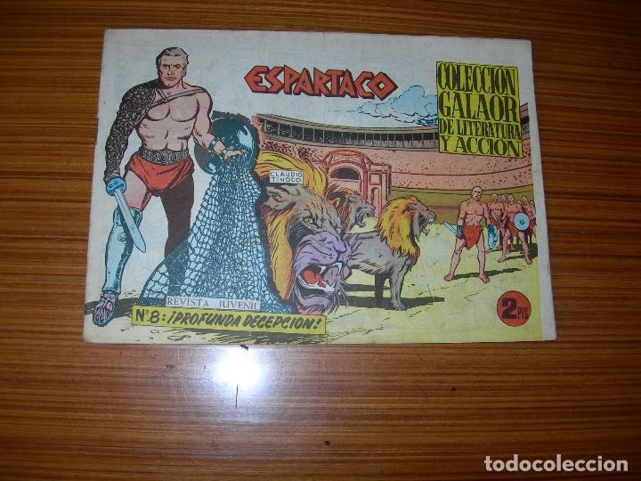 ESPARTACO Nº 8 EDITA GALAOR (Tebeos y Comics - Galaor)