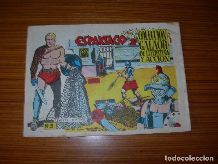 ESPARTACO Nº 9 EDITA GALAOR (Tebeos y Comics - Galaor)