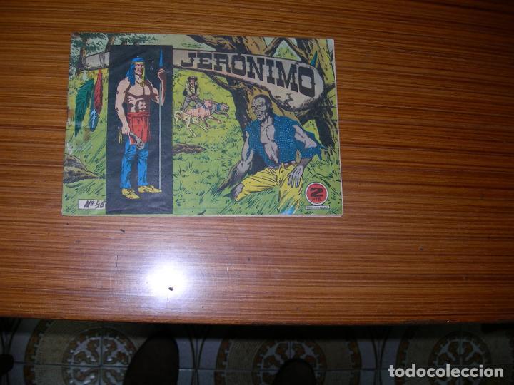 JERONIMO Nº 46 EDITA GALAOR (Tebeos y Comics - Galaor)