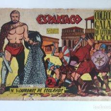 Tebeos: ESPARTACO - NUMERO 1 - GALAOR, ORIGINAL - GCH. Lote 186702417