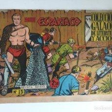 Tebeos: ESPARTACO - NUMERO 15 - GALAOR, ORIGINAL - GCH. Lote 186707585