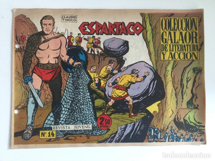 ESPARTACO - NUMERO 14 - GALAOR, ORIGINAL - GCH (Tebeos y Comics - Galaor)