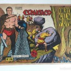Tebeos: ESPARTACO - NUMERO 14 - GALAOR, ORIGINAL - GCH. Lote 186708483