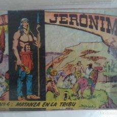 Tebeos: JERONIMO Nº 4 ORIGINAL. Lote 188659421