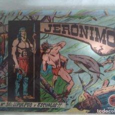 Livros de Banda Desenhada: JERONIMO Nº 36 ORIGINAL. Lote 188673592