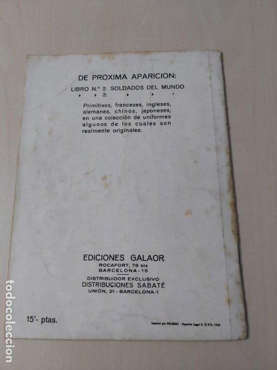 Tebeos: SOLDADOS DE ESPAÑA Nº 1 - GALAOR - Foto 11 - 188734492