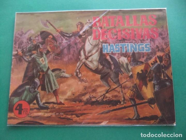 BATALLAS DECISIVAS DE LA HUMANIDAD HASTINGS GALAOR (Tebeos y Comics - Galaor)