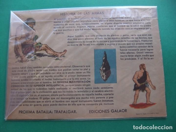 Tebeos: BATALLAS DECISIVAS DE LA HUMANIDAD HASTINGS GALAOR - Foto 2 - 189331123