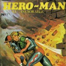 Giornalini: HERO-MAN EL INEXORABLE - GALAOR / NÚMERO 1. Lote 192136812