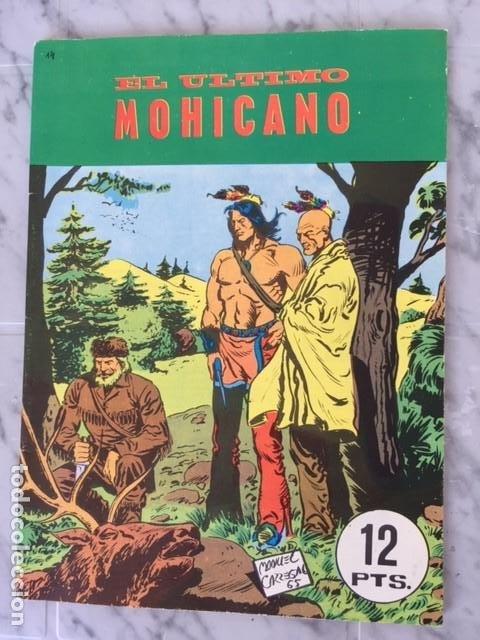 EL ULTIMO MOHICANO - ED. GALAOR (Tebeos y Comics - Galaor)