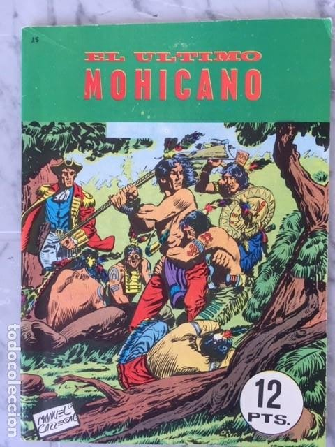 Tebeos: EL ULTIMO MOHICANO - Ed. Galaor - Foto 2 - 193614887