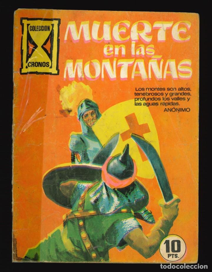 CRONOS - GALAOR / SIN NUMERAR (MUERTE EN LAS MONTAÑAS) (Tebeos y Comics - Galaor)