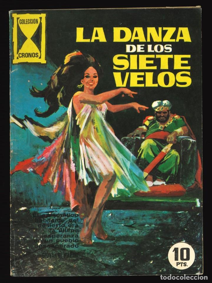 CRONOS - GALAOR / SIN NUMERAR (LA DANZA DE LOS SIETE VELOS) (Tebeos y Comics - Galaor)