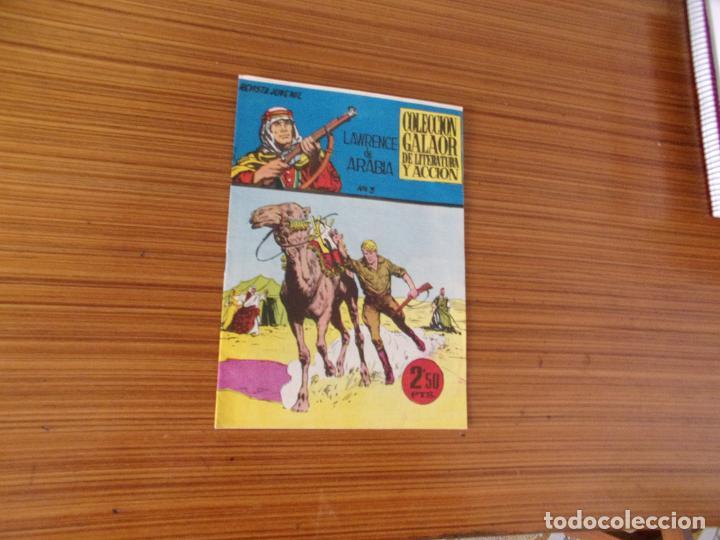 LAWRENCE DE ARABIA Nº 3 EDITA GALAOR (Tebeos y Comics - Galaor)