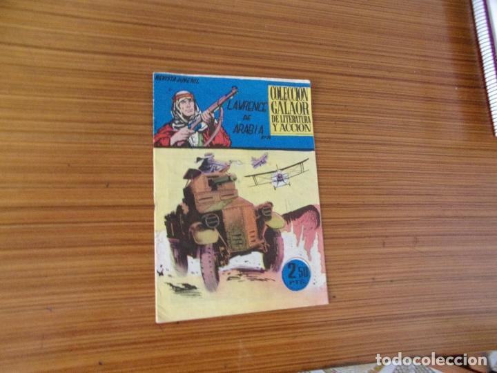 LAWRENCE DE ARABIA Nº 14 EDITA GALAOR (Tebeos y Comics - Galaor)