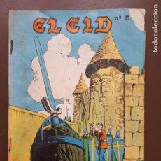 Tebeos: EL CID - GALAOR - 1968. Lote 195863007