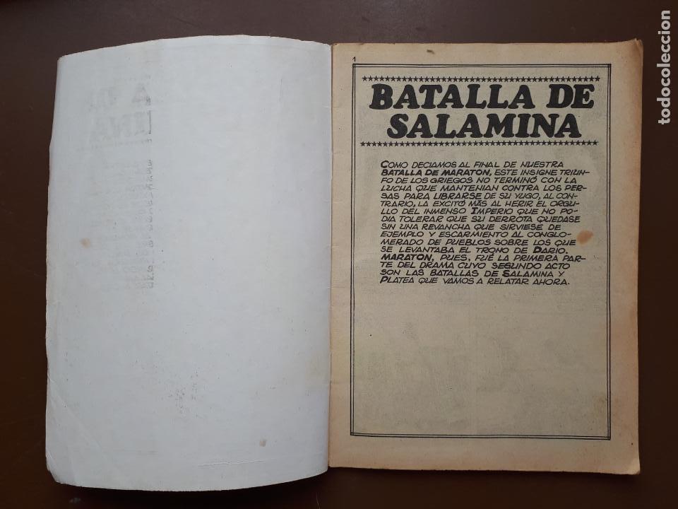 Tebeos: Batallas Decisivas. Salamina - Galaor - Foto 2 - 195863220