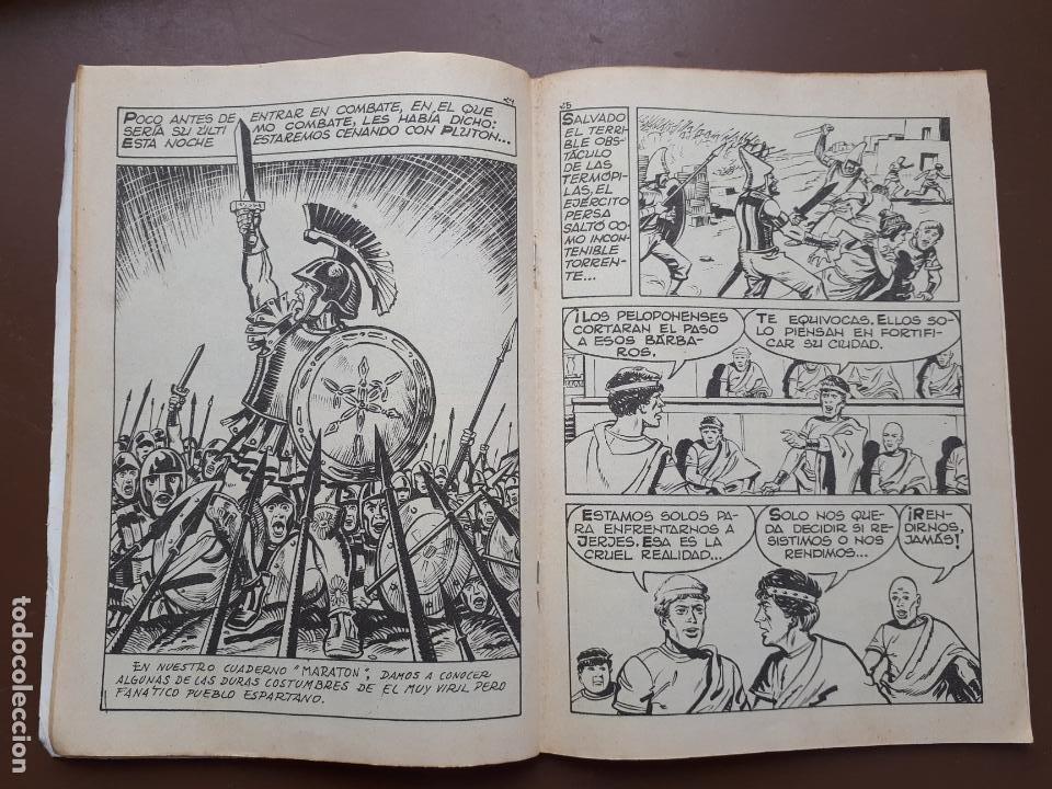 Tebeos: Batallas Decisivas. Salamina - Galaor - Foto 3 - 195863220