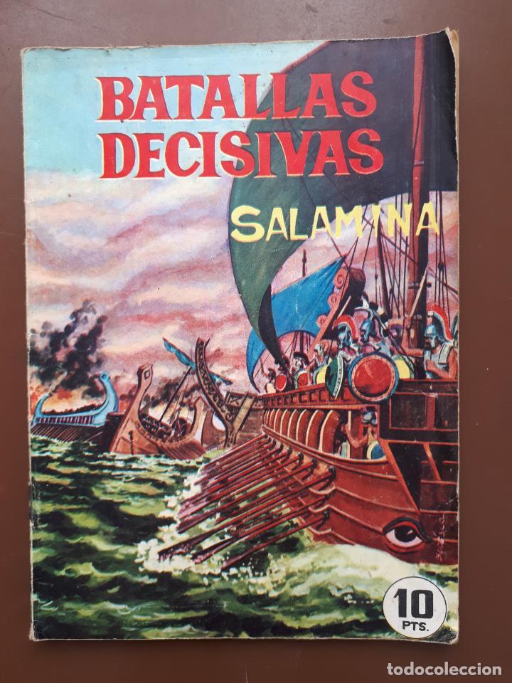 BATALLAS DECISIVAS. SALAMINA - GALAOR (Tebeos y Comics - Galaor)