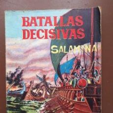 Tebeos: BATALLAS DECISIVAS. SALAMINA - GALAOR. Lote 195863220