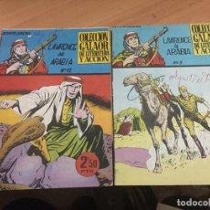 Tebeos: LAWRENCE DE ARABIA LOTE Nº 3 Y 12 (GALAOR) ORIGINALES (COIB62). Lote 196654730