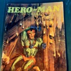 Tebeos: HERO-MAN EL INEXORABLE - GALAOR / SIN NUMERAR - . Lote 198423140