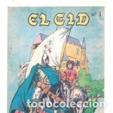 Tebeos: EL CID COMPLETA EDITORIAL GALAOR 5 EJEMPLARES. Lote 199657393
