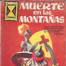 Tebeos: COLECCION CRONOS: MUERTE EN LAS MONTAÑAS. JESUS DURAN 1967. Lote 201110916