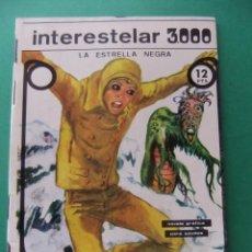 Tebeos: INTERESTELAR 3000 LA ESTRELLA NEGRA NOVELA GRAFICA GALAOR 1968. Lote 203332321
