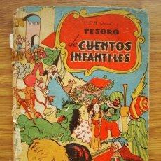 Tebeos: TESORO DE CUENTOS INFANTILES (MAMA BEBITA / EL GATO SIETEVIDAS / HISTORIA DE PICOLINO) BRUGUERA. Lote 205439157