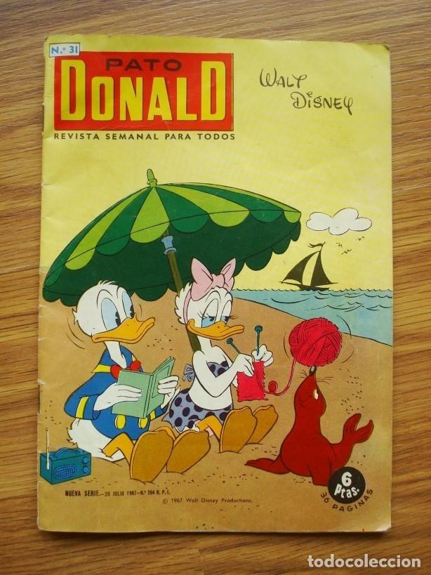 PATO DONALD Nº 31 (EDICIONES RECREATIVAS ERSA) (Tebeos y Comics - Galaor)