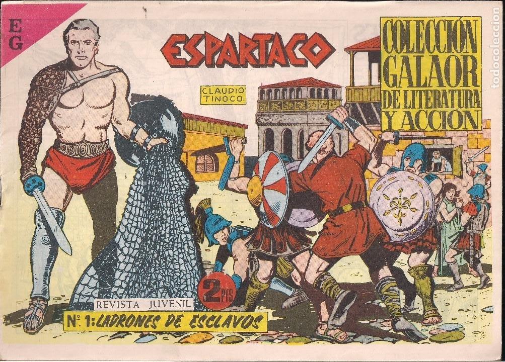 ESPARTACO Nº 2. LUCHA DESIGUAL (Tebeos y Comics - Galaor)