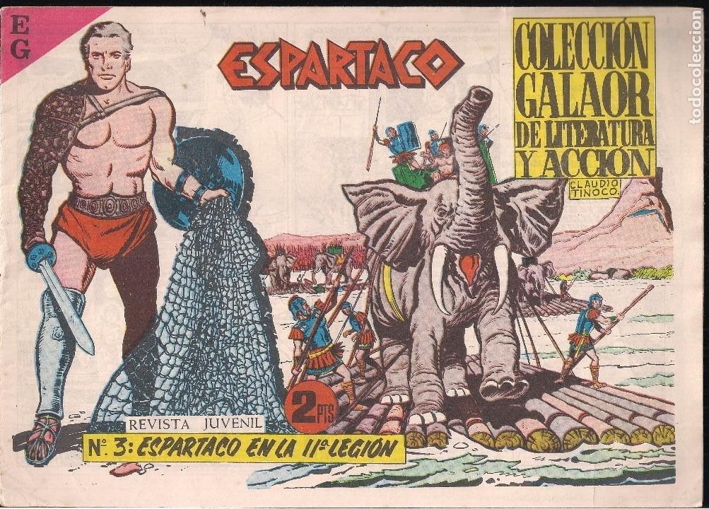 ESPARTACO Nº 3. ESPARTACO EN LA IIª LEGION (Tebeos y Comics - Galaor)