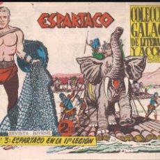 Tebeos: ESPARTACO Nº 3. ESPARTACO EN LA IIª LEGION. Lote 205781995
