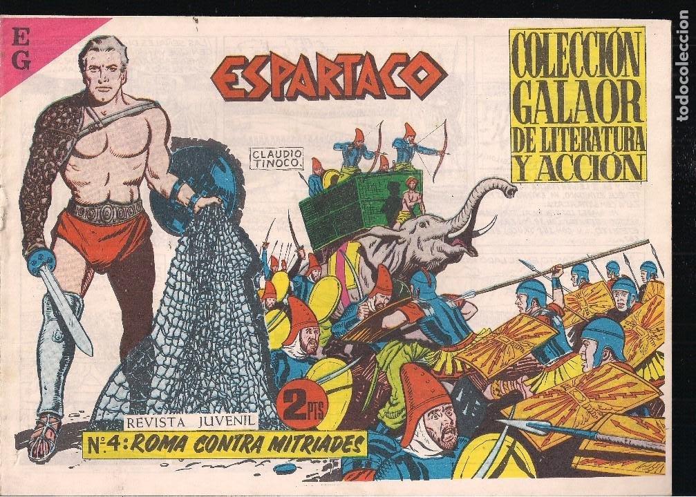 ESPARTACO Nº 4: ROMA CONTRA MITRIADES (Tebeos y Comics - Galaor)